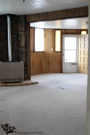 Do Kitchen Cabinets Go In Before Flooring Fixer Upper Update Paint And Flooring The Wood Grain Cottage