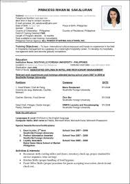 Curriculum Vitae Template Word International Resume Template Resume Cv Cover Letter