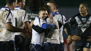 watch chaotic scenes in scotland dressing room after kiwis draw