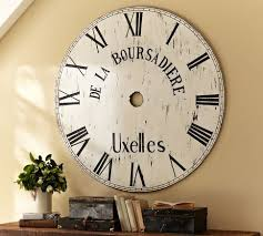Pottery Barn Outdoor Clock 47 Best Oversized Clocks Images On Pinterest Oversized Clocks