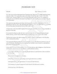 doc 400518 draft of promissory note u2013 promissory note template