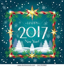 merry christmas happy new year greeting stock vector 535536733