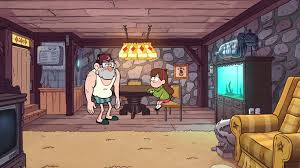 livingroom cartoon image s1e6 living room png gravity falls wiki fandom powered