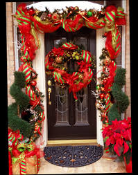 red color christmas front door decorations outdoor with beautiful red color christmas front door decorations outdoor with beautiful ball