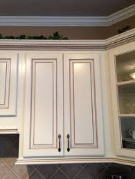 Glaze Over Painted Cabinets Antique White Kitchen Cabinet Granada Wood Look I Want Antique