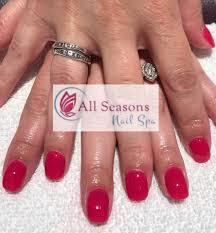 all seasons nail spa home facebook