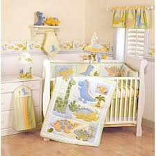 Baby Nursery Bedding Sets Neutral Okay Actually This Dinosaur Bedding Set Is Kinda And