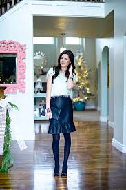 Rachel Parcell Home Holiday Ready With Ann Taylor Pink Peonies By Rach Parcell