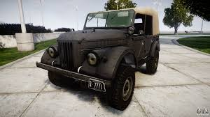 gaz 69 off road 69 для gta 4