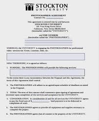 vendor contract template free u0026 premium templatesproject