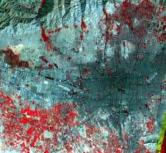 tehran satellite map elburz mountains iran earthshots satellite images of