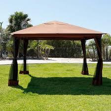 Patio Tent Gazebo 10 X 12 Outdoor Backyard Regency Patio Canopy Gazebo Tent With