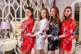 and bridesmaid robes silk robe bridesmaid robes designer bathrobe wholesale