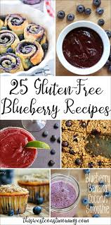 The 25 Best Breakfast Bar 25 Mouthwatering And Gluten Free Blueberry Recipes This West