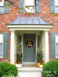 Door Awning Plans Front Door Overhang Designs Thesouvlakihouse Com
