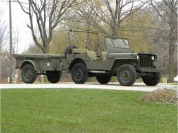 jeep offroad trailer 1945 willys mb jeep u0026 mbt trailer for sale classiccars com cc
