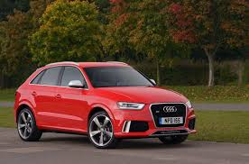 white and pink audi audi rs q3 2015 review by car magazine