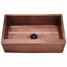Hammered Copper Sinks Cheap Kitchen Sink Double Wall Copper - Hammered kitchen sink