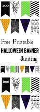 halloween banner bunting free printable halloween banner