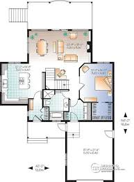 Cottage House Plans With Basement House Plan W2939b V2 Detail From Drummondhouseplans Com