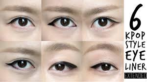 tutorial kiss korean 6 k pop inspired korean style eyeliners tutorial madokeki makeup