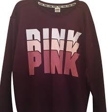 secret pink sweater s secret burgundy sweatshirt hoodie 22455406