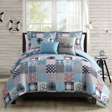 Nautical Bed Set Seashell Comforter Set Sets Ecfq Info