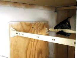 how to fix cabinet bottom replacing drawer slides how to