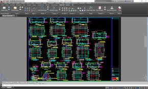 layout en autocad 2015 rebar detailing and bar listing software cads usa