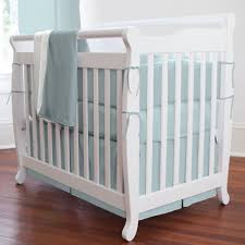 Mini Crib Sale Blue Mini Crib Bedding Carousel Designs