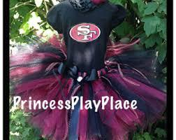 49ers Halloween Costume Dallas Cowboys Inspired Cheerleader Football Tutu