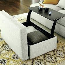 Ottoman Coffee Table Marvelous Coffee Table With 4 Ottomans Coffee Table With Storage