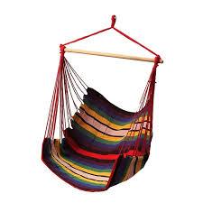 sgodde garden patio porch hanging cotton swing chair seat