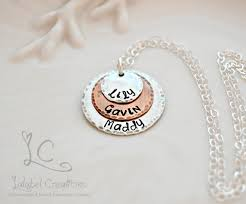 kids names necklace personalized necklace sted jewelry personalized