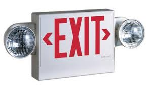 exit emergency light combo exit sign ght emergency lights and exit signs recalled by cooper