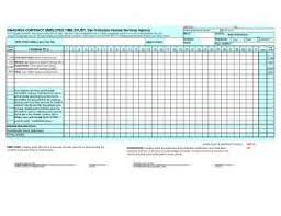 employee time study template employee time study template