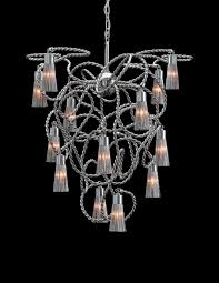 Swing From The Chandelier Contemporary Chandelier Stainless Steel Incandescent Sultans