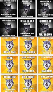 Insanity Wolf Meme Generator - baby insanity wolf meme generator mne vse pohuj
