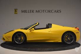 ferrari yellow interior 9 ferrari 458 speciale for sale on jamesedition