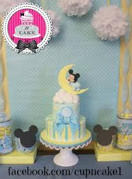 baby mickey baby shower baby mickey baby shower cake cake by danielle lechuga pinteres