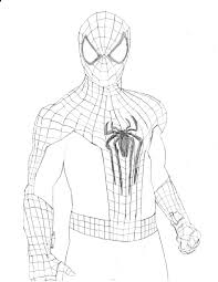 pictures amazing spider man drawings drawing art gallery