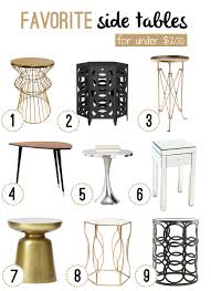 Side Tables At Target Round End Table Target Round Designs