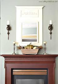 thanksgiving mantel attractive fireplace decor with various simple mantel decoration
