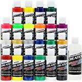 amazon com 12 createx colors airbrush paint set basic starter kit