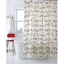 Shower Curtain Wire Birds On A Wire Shower Curtain Canadian Tire