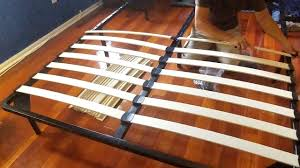 Bed Frame Craigslist Frame Metal King Target Cheaprm With Wood Slats