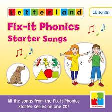 Letterland Worksheets Letterland Fix It Phonics Starter Songs Cd Etc Educational