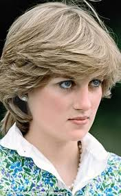 1980s feathered hair pictures diana hairstyle that was her crowning glory daily mail online