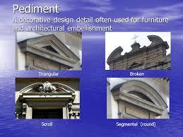 Architectural Pediment Design Architectural Features Interior Design Ii Quoins Projecting Or