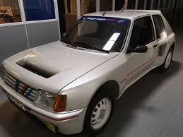 peugeot 205 group b peugeot 205 turbo 16 of 1985 classic cars for sale